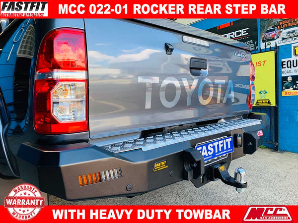 MCC 022-01 Rocker Rear Bar to suit Toyota Hilux 07/2011-09/2015
