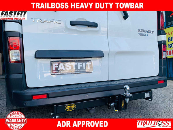 TrailBoss Heavy Duty Towbar to suit Renault Trafic X82 VAN 2015-ON