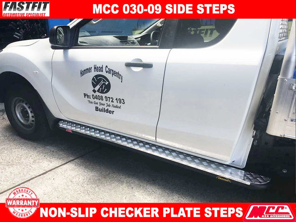 MCC 030-09 Side Steps to suit MAZDA BT50 10/2011-ON