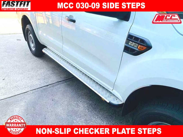 MCC 030-09 Side Steps to suit Ford Ranger PX Models