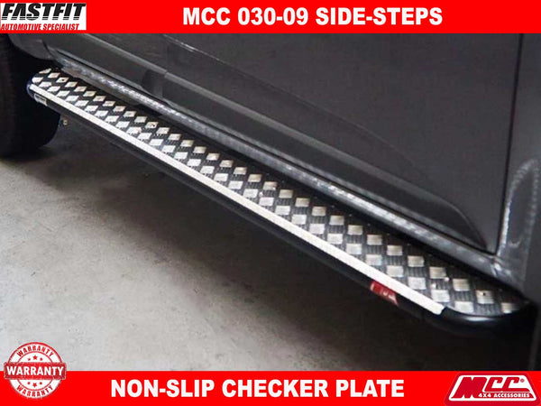 MCC 030-09 Side Steps to suit Holden Colorado RG 06/2012-2016