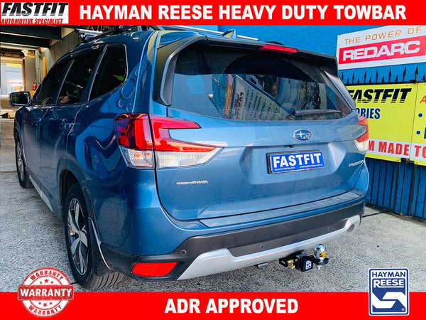 Hayman Reese Heavy Duty Towbar to suit Subaru Forester SERIES 5 SUV 07/2018-ON