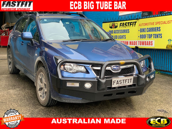 ECB Big Tube Bar® with Bumper Lights TO SUIT ON SUBARU XV