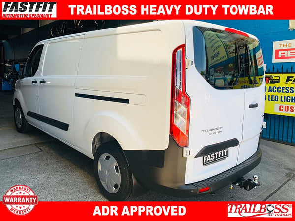 TrailBoss Heavy Duty Towbar to suit Ford Transit Custom VN Van 2014-ON