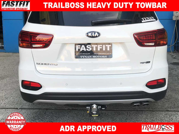 Trailboss Heavy Duty Towbar to suit KIA Sorento 04/2015-ON