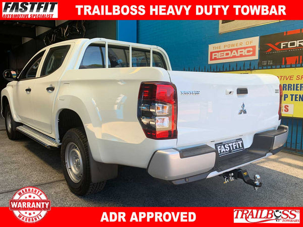 TrailBoss Heavy Duty Towbar to suit Mitsubishi Triton MR Ute With Step 2019