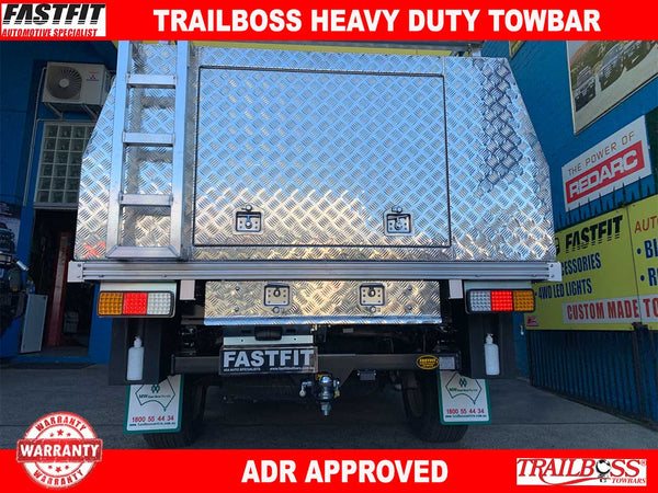 Trailboss Heavy Duty Towbar to suit Mazda BT50 (Cab Chassis) 08/2015-ON