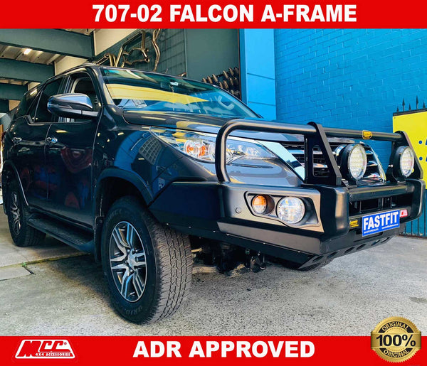 MCC 707-02 A-Frame Falcon Bullbar to suit TOYOTA Fortuner 10/2015-ON