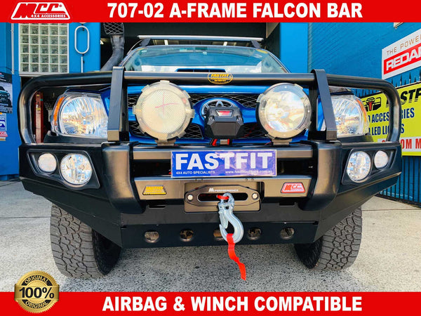 MCC 707-02 A-Frame Falcon Bar with to suit TOYOTA HILUX 03/2005-06/2011