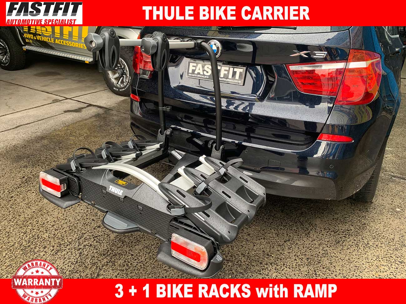 Thule Bike Carrier 3 1 To Suit Bmw X3