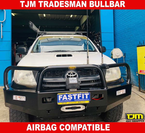 TJM Tradesman Bull Bar to suit Toyota Hilux 03/2005-06/2011