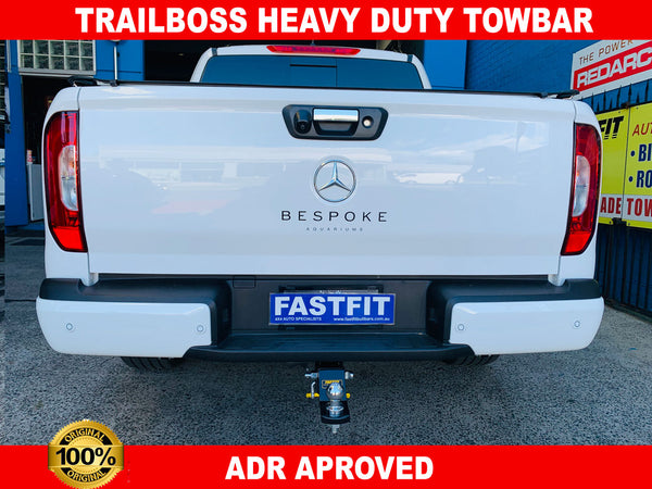Trailboss Heavy Duty Towbar to suit Mercedes X-Class Pure/Proressive/Power 4D UTE CL4 2017-ON