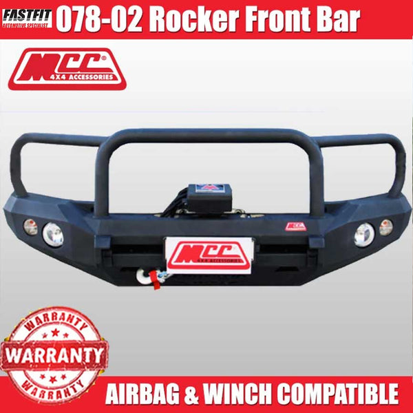 MCC 078-02 Triple Loops Rocker Bull Bar to suit Toyota Land Cruiser 100s 1998-11/2007