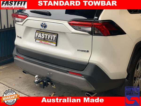 HAYMAN REESE TOW BAR TO SUIT ON TOYOTA RAV 4 2019 ON