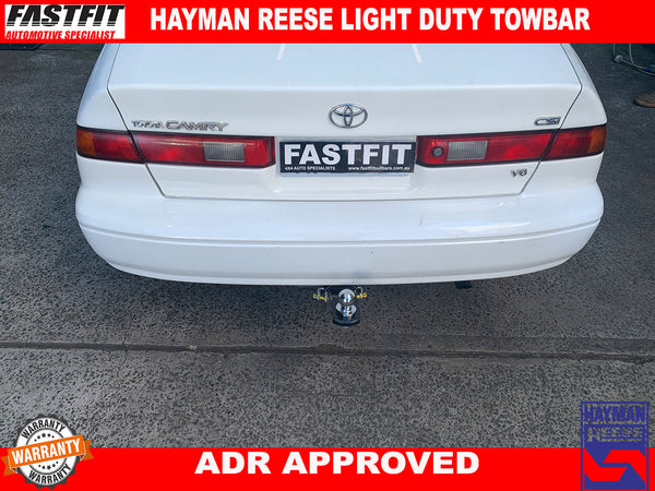 HAYMAN REESE LIGHT DUTY TOWBAR TO SUIT ON TOYOTA CAMRY 1997-2006