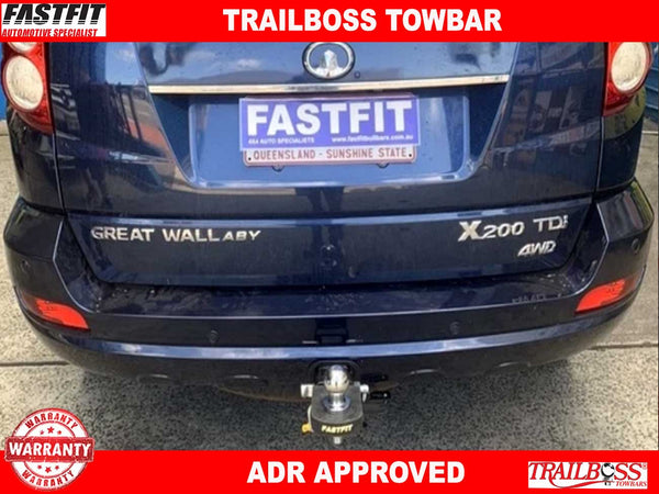 Trailboss Heavy Duty Towbar to suit GREAT WALL X200 4WD 04/11-07/15
