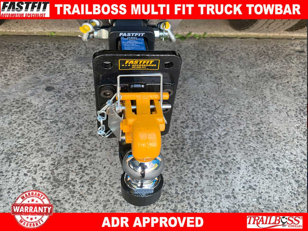 Trailboss Heavy Duty Towbar to suit Universal Truck Bar Multi Fit Towbar kit