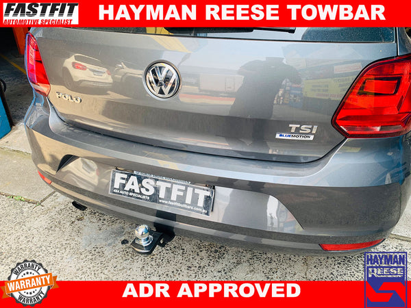 Hayman Reese Towbar to suit VOLKSWAGEN POLO 2013-ON
