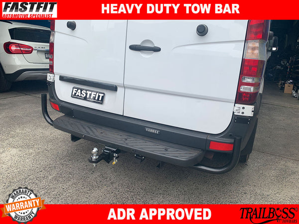 TRAILBOSS Heavy Duty Towbar to suit MERCEDES Sprinter 3t & 5t VAN 10/2006-ON
