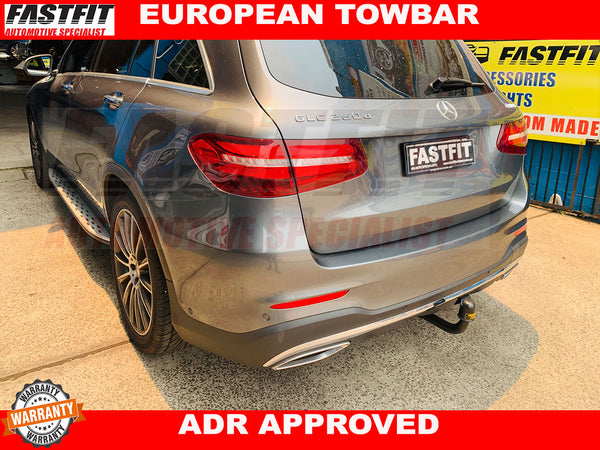 FAST-FIT EUROPEAN TOWBAR FOR MERCEDES GLC (X253) 2015 ON