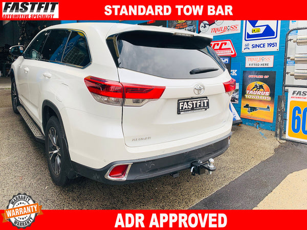FAST FIT TOWBAR TO SUIT ON TOYOTA KLUGER 2017-ON
