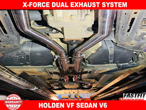 X-FORCE Dual Exhaust System 3