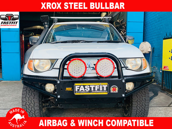 XROX Steel Tube Bullbar to suit Mitsubishi triton ML Ute 2006-2015
