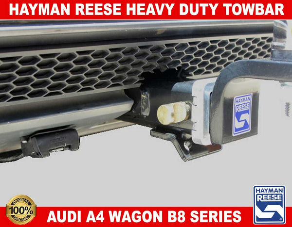 Hayman Reese Heavy Duty Towbar to suit AUDI A4 WAGON B8 Series 08/2012-01/2016