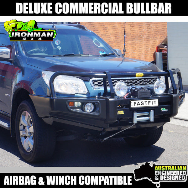Ironman4x4 Deluxe Commercial Bull Bar To Suit Holden Colorado 7 RG 2016 ON