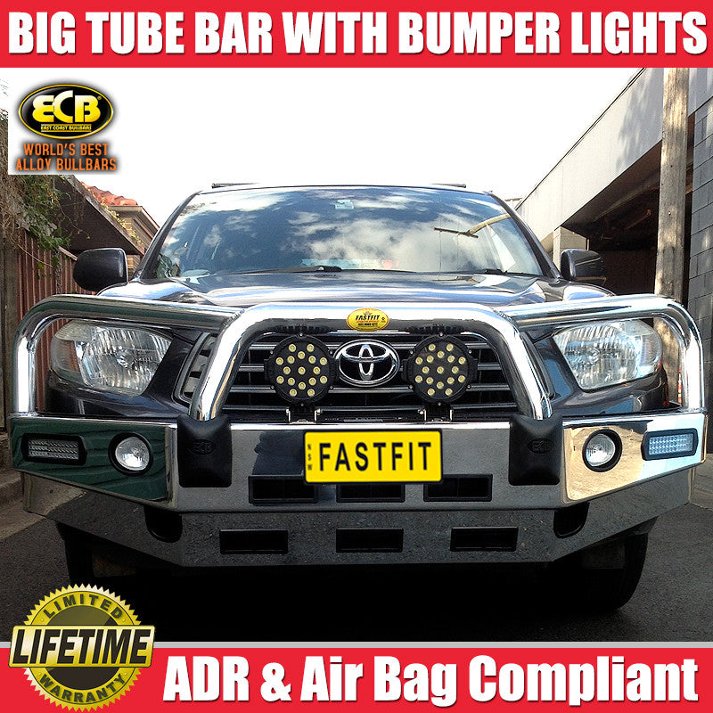 Ecb Big Tube Bull Bar To Suit Toyota Kluger 08 2007 08