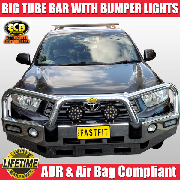 ECB Big Tube Bull Bar to Suit Toyota Kluger 08/2007 - 08/2010