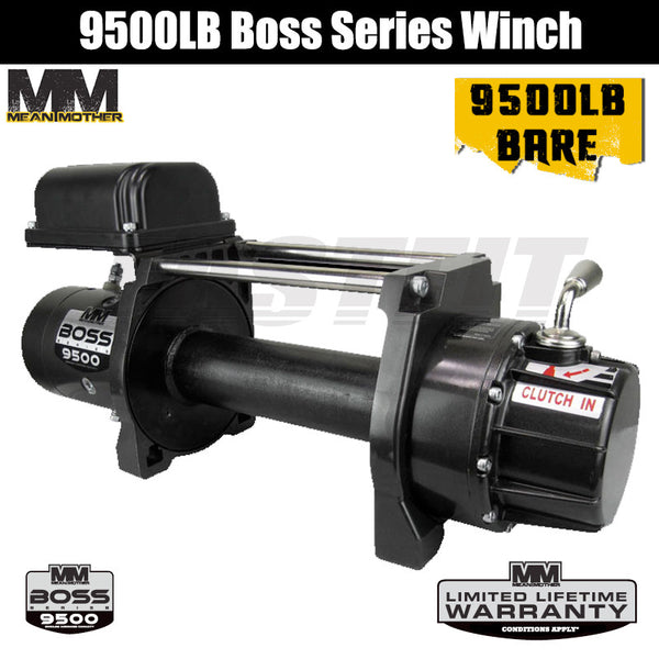 Mean Mother 9500LB Boss Series Winch - Bare