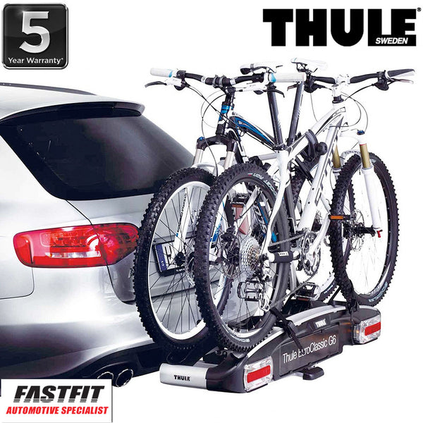 Thule EuroClassic G6 928 Towbar Mounted 2-3 x Bike Carrier