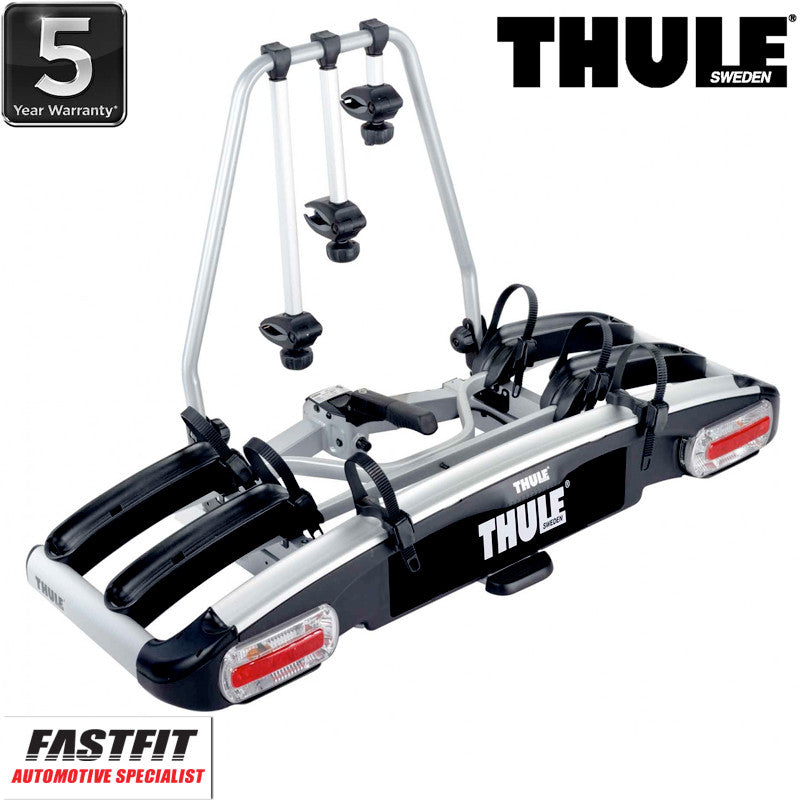 thule euroclassic g6 929 towbar mounted 3 4 x bike carrier. Black Bedroom Furniture Sets. Home Design Ideas