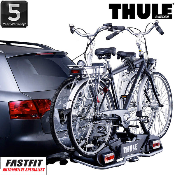 Thule EuroPower 916 Towbar Mounted 2 x Heavy And Large Bike Carrier