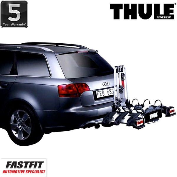 Thule EuroWay G2 923 Towbar Mounted 3 x Bike Carrier