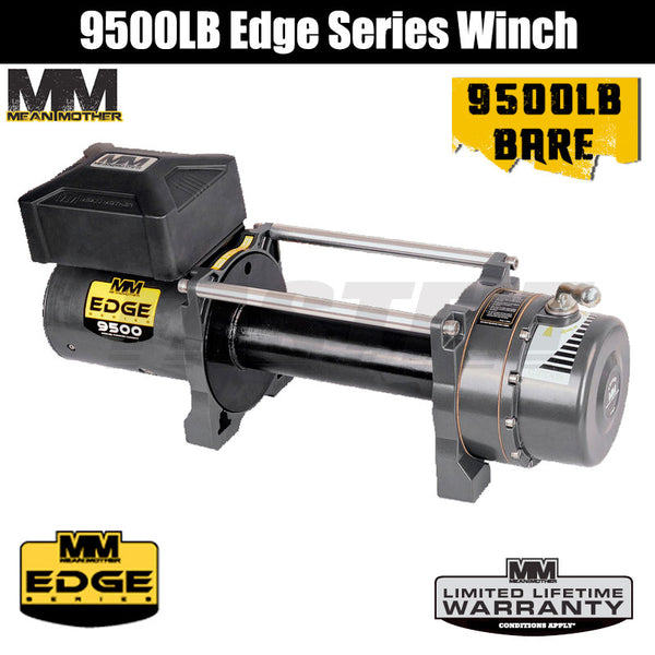 Mean Mother 9500LB Edge Series Winch - Bare