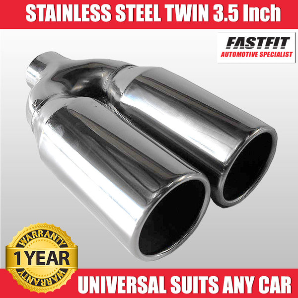 "FastFit 304 3.5"" Stainless Steel Exaust Tip"