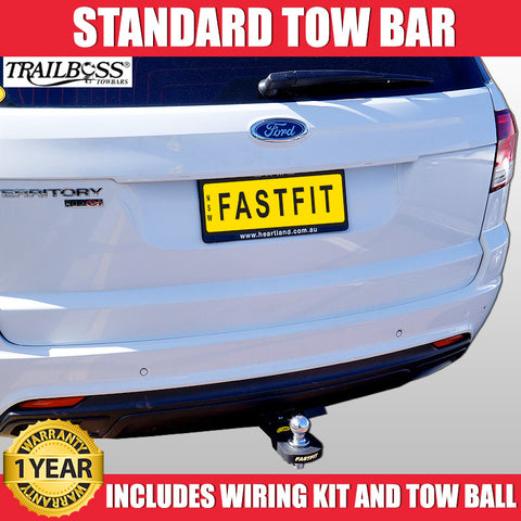 TrailBoss Standard Tow Bar To Suit Ford Territory - 04/2004 ON