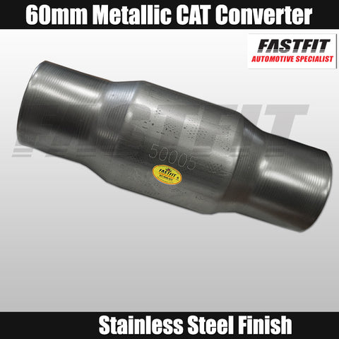 Fastfit 60mm Universal Euro 2 Metallic Catalytic Converter