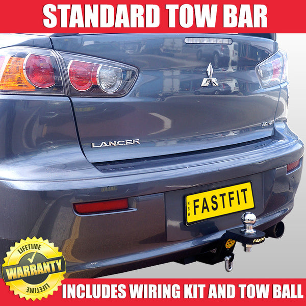 FastFit Standard Tow Bar To Suit Mitsubishi Lancer Sedan 10/2007 - 10/2011