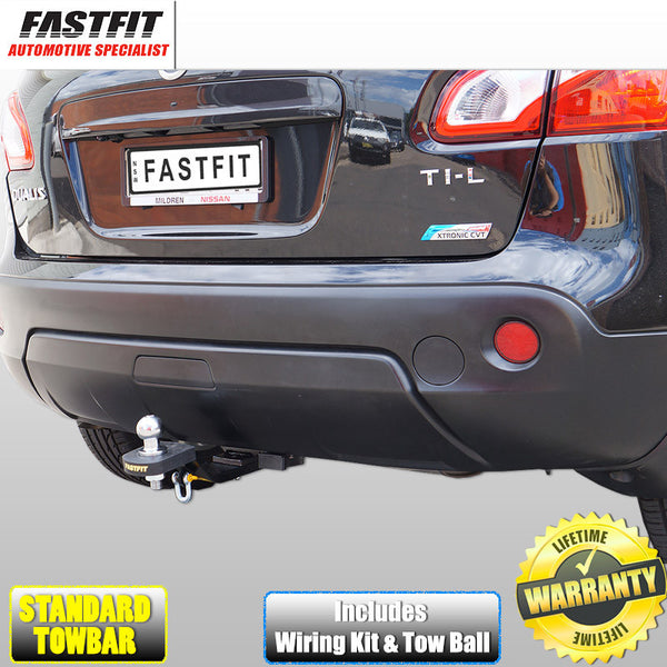 Fastfit Standard Towbar To Suit Nissan Dualis 10/2007 ON Does NOT Fit +2 Model
