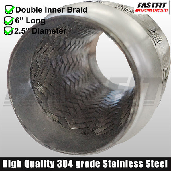 Fastfit Stainless Steel Flexi Bellow - 2.5