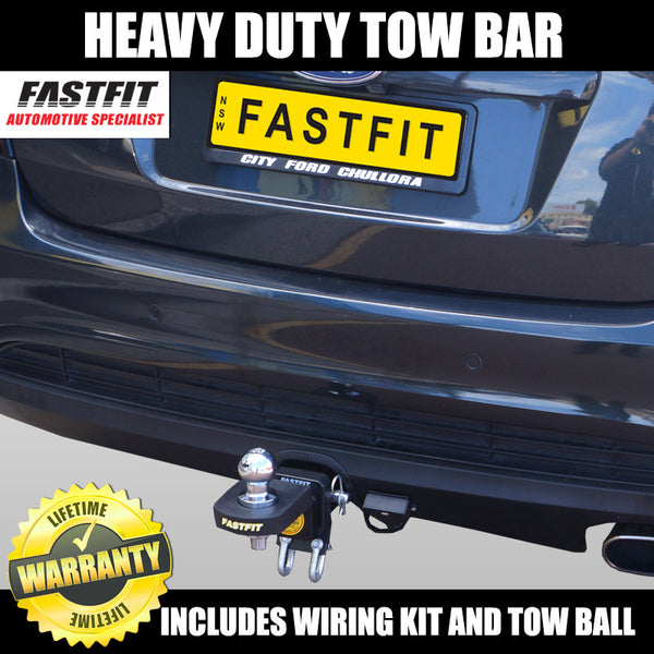 FastFit Heavy Duty Tow Bar To Suit Ford Falcon, BA, BF, FG Sedan - 10/2002 - 5/2008