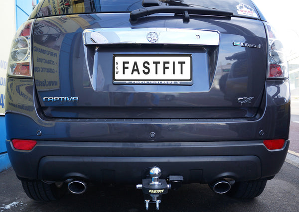 Fastfit Heavy Duty Tow Bar To Suit Holden Captiva 5 & 7 - 10/2006 ON