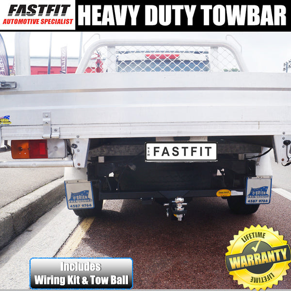 Fastfit Heavy Duty Tow Bar To Suit Holden Colorado Tray Body With No Step 2WD/4WD 03/2003 - 05/2012