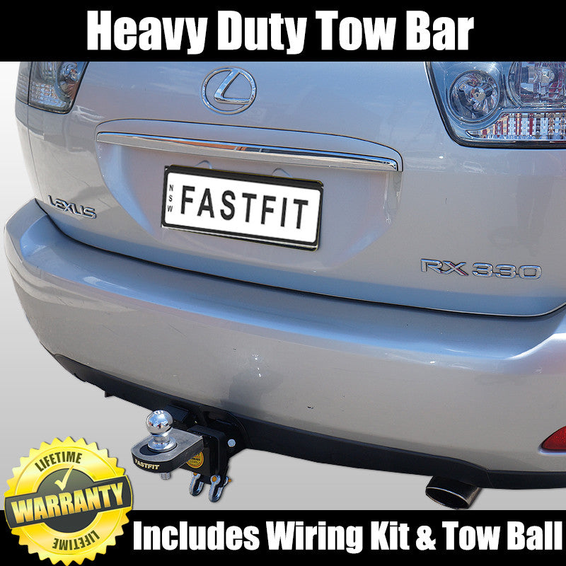 fastfit heavy duty towbar to suit lexus rx330 - 08/2007 on