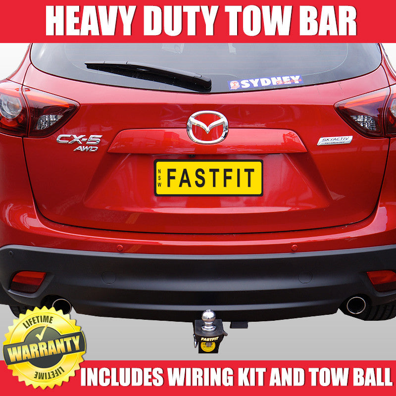 Fastfit Heavy Duty Tow Bar To Suit Mazda Cx5 Wagon 02 2012