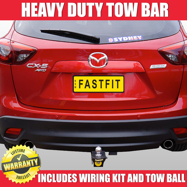 FastFit Heavy Duty Tow Bar To Suit Mazda CX5 Wagon - 02/2012 ON