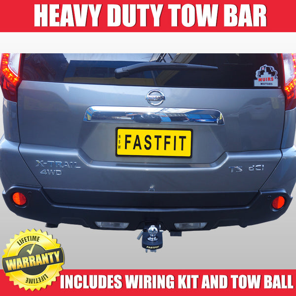 FastFit Heavy Duty Tow Bar To Suit Nissan X-Trial T31 10/2007 ON